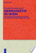 Germanistik in Wien