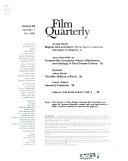 Quarterly Of Film Radio And Television