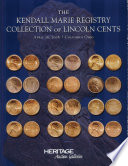 HNAI CSNS Kendall Marie Collection of Lincoln Cents  Auction Catalog  404