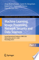 Machine Learning Image Processing Network Security And Data Sciences