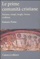 Le prime comunit   cristiane