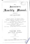 The Investor S Monthly Manual