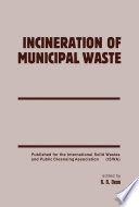 Incineration Of Municipal Waste book