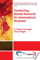 Conducting Market Research For International Business book
