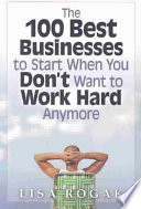 download ebook the 100 best businesses to start when you don't want to work hard anymore pdf epub