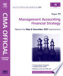 Management Accounting - Financial Strategy