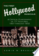 The First Hollywood Musicals