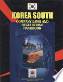 Korea South Company Laws and Regulations Handbook