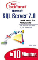 Sams Teach Yourself Microsoft Sql Server 7 In 10 Minutes