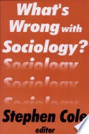 What s Wrong With Sociology
