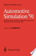 Automotive Simulation '91