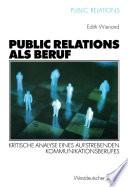 Public Relations als Beruf