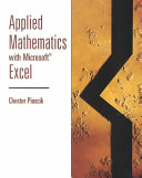 Applied mathematics with Microsoft Excel