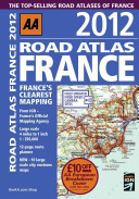 Road Atlas France 2012