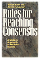 Rules For Reaching Consensus