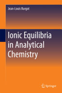 download ebook ionic equilibria in analytical chemistry pdf epub