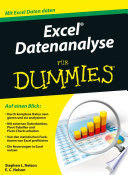 Excel Datenanalyse f r Dummies