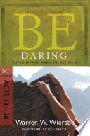 Be Daring  Acts 13 28