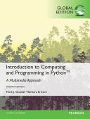 Introduction to Computing and Programming in Python  Global Edition