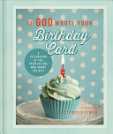 If God Wrote Your Birthday Card : that fits any gift-giving occasion....