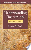 Understanding Uncertainty : is interested in knowing and handling uncertainty.