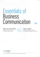 Essentials of Business Communication   Premium Website  1 term Access   Mindtap Business Communication  1 term Access