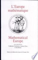 L'Europe mathématique histoires, mythes, identités