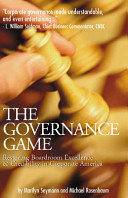 The Governance Game