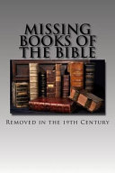 Missing Books of the Bible Book PDF
