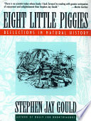 Eight Little Piggies  Reflections in Natural History