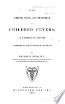 On The Nature Signs And Treatment Of Childbed Fevers