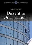 Dissent in Organizations