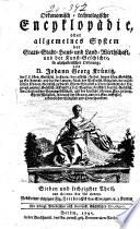 Oekonomische encyklopädie
