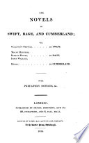 The    Novels Of Swift  Bage  And Cumberland