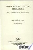Contemporary British Literature