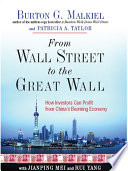 From Wall Street to the Great Wall  How Investors Can Profit from China s Booming Economy