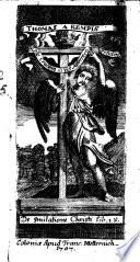 Thomas A Kempis De Imitatione Christi Lib Iv