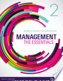 Management The Essentials