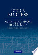 Mathematics  Models  and Modality