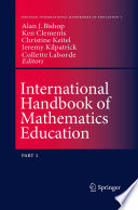 International Handbook Of Mathematics Education book