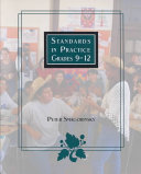 Standards in practice  grades 9 12