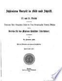 Schlesiens Vorzeit in Bild und Schrift