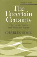 The Uncertain Certainty : ...