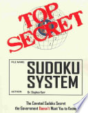 Top Secret Sudoku System : bare minimum of penciling in and...