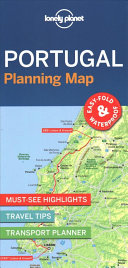 Lonely Planet Portugal Planning Map : easy to fold, this portable planning map includes...