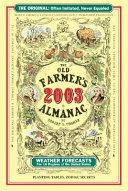 The Old Farmer's Almanac 2003
