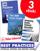 Best Practices For Technical Writers And Editors Video Enhanced Edition Collection