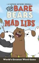 We Bare Bears Mad Libs