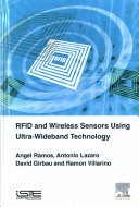 Rfid And Wireless Sensors Using Ultra Wideband Technology book