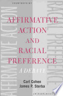 Affirmative Action and Racial Preference